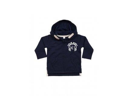13611 detska mikina s kapuci navy
