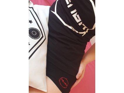 Dámské černé kalhotky NEURO Round