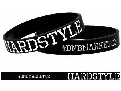 Náramek Hardstyle černý