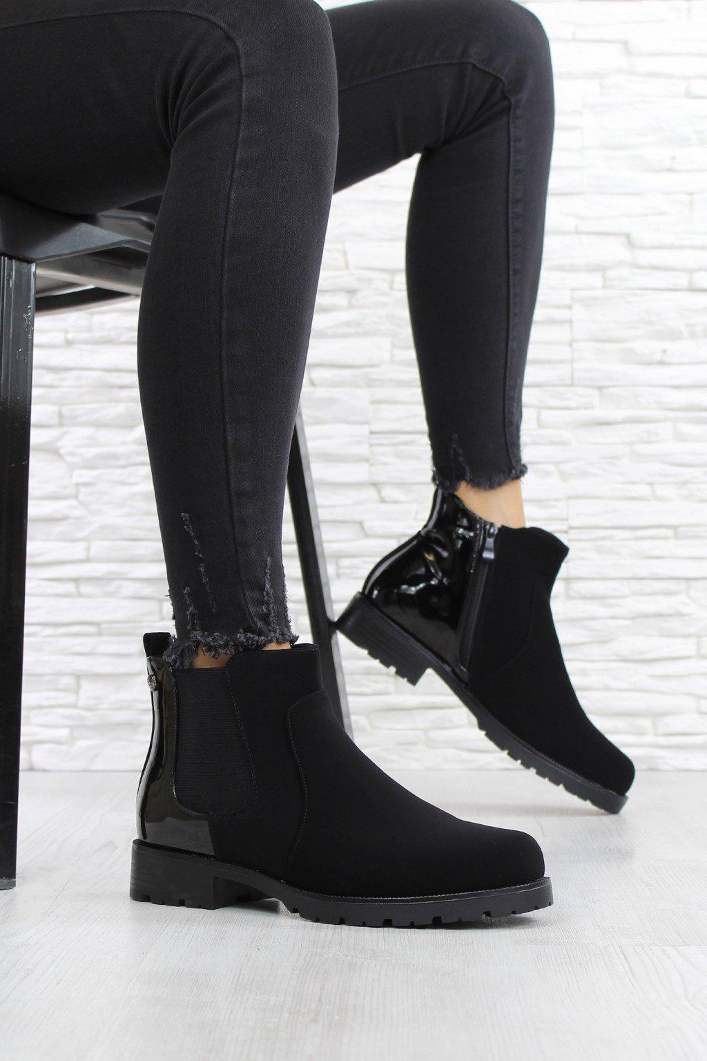 Kotníkové chelsea boty SG 332B (1)