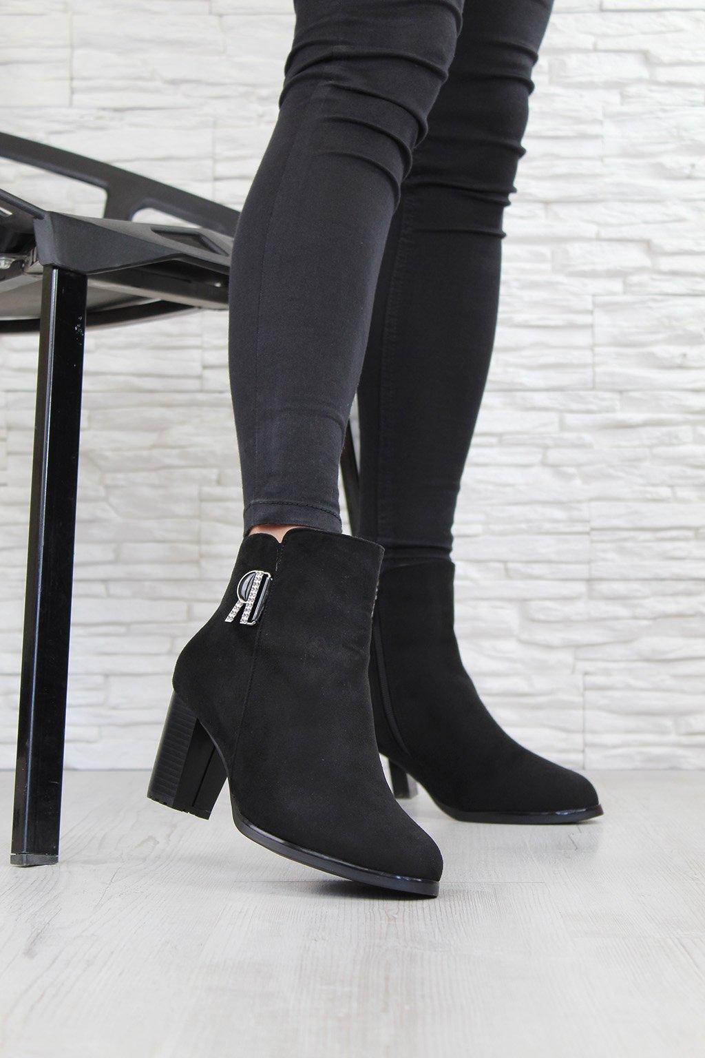 Dámské boty na podpatku CK51 2B (3)