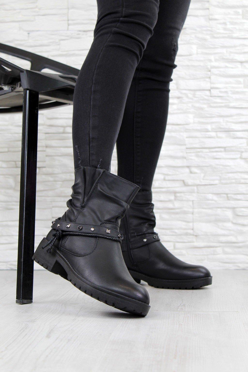 Kotníkové boty MD02B (3)