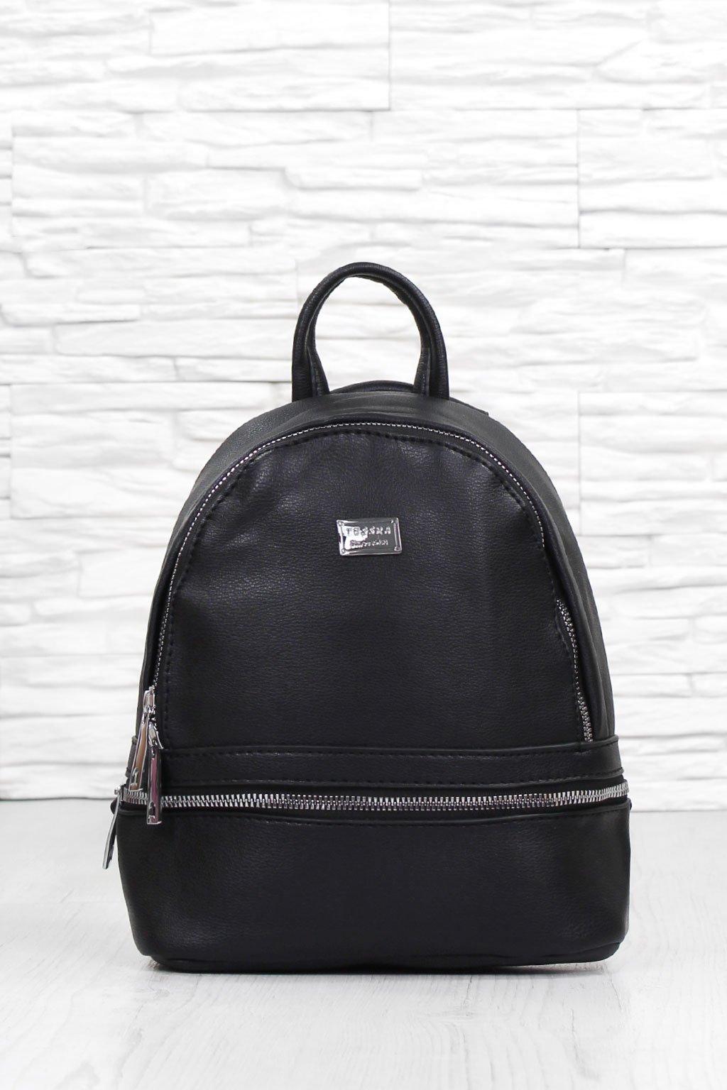 Malý černý batoh 4704 TS (1)