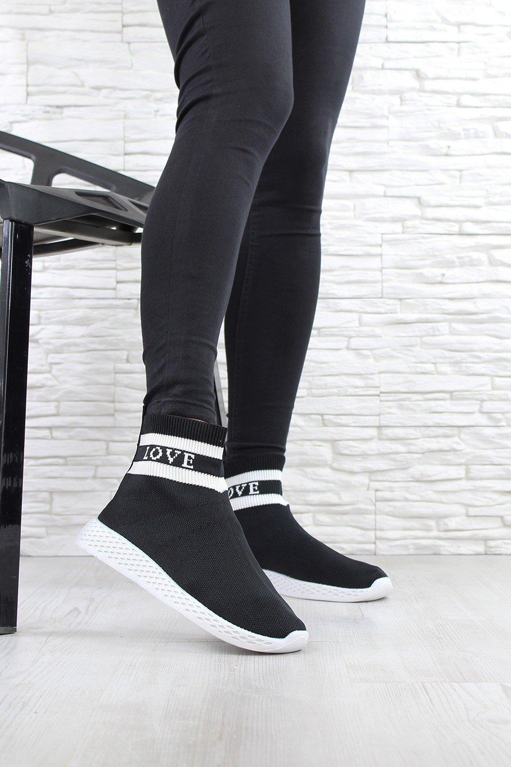 Ponožkové tenisky love SJ1877 1B (3)