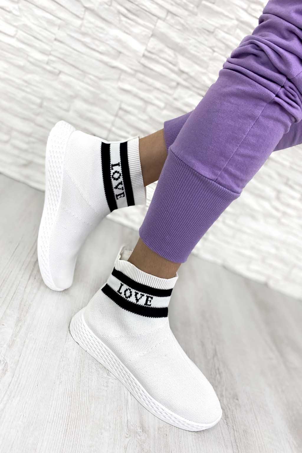 SJ1877 3 WHITE Bílé tenisky