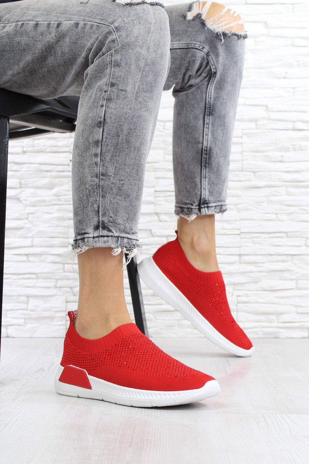 Ponožkové tenisky s kamínky 1901 4R (1)