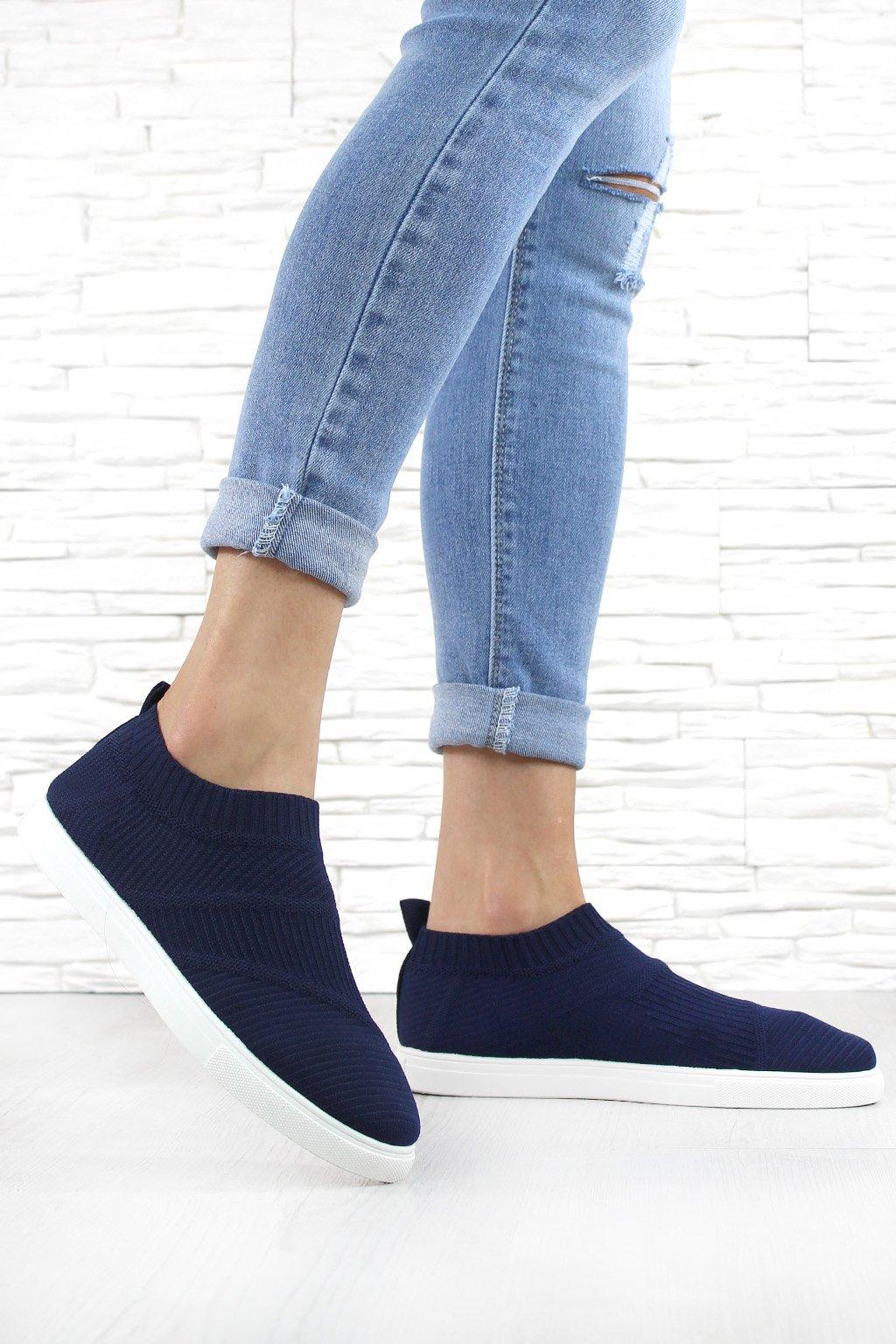 Nízké ponožkové tenisky SW6269BL (3)