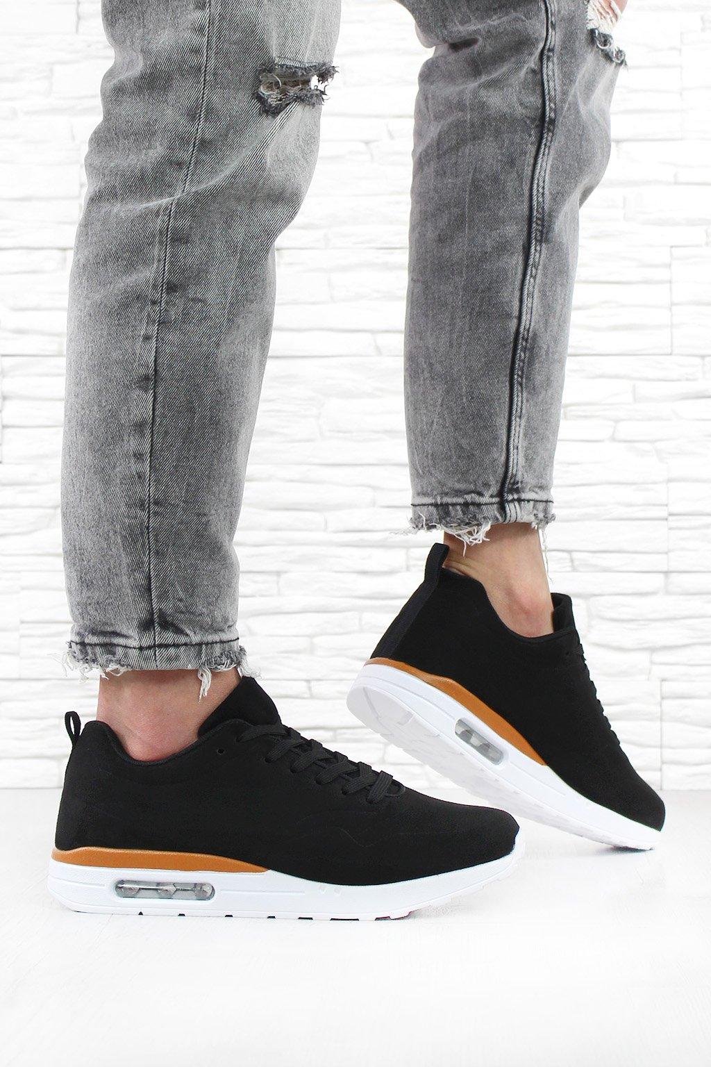 Black sneakers 688 1B (1)