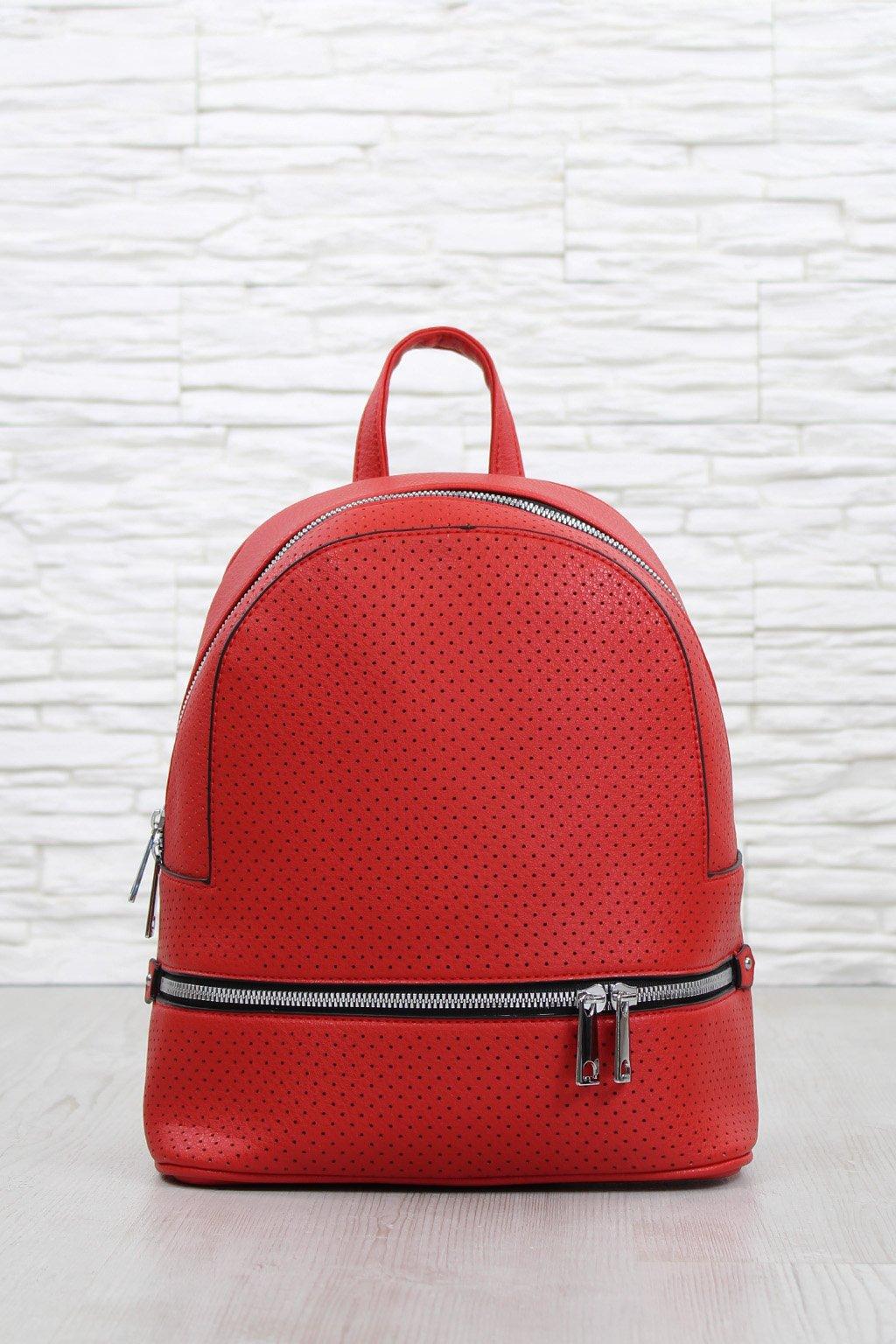Červený batoh 5303 BB (1)