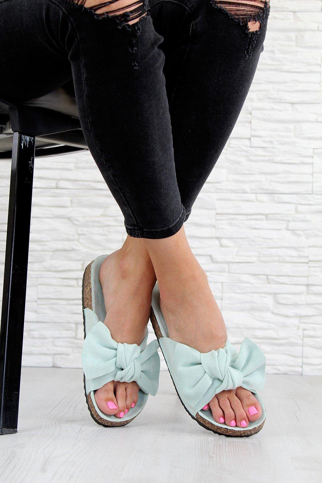 711 5GR Mint pantofle (2)