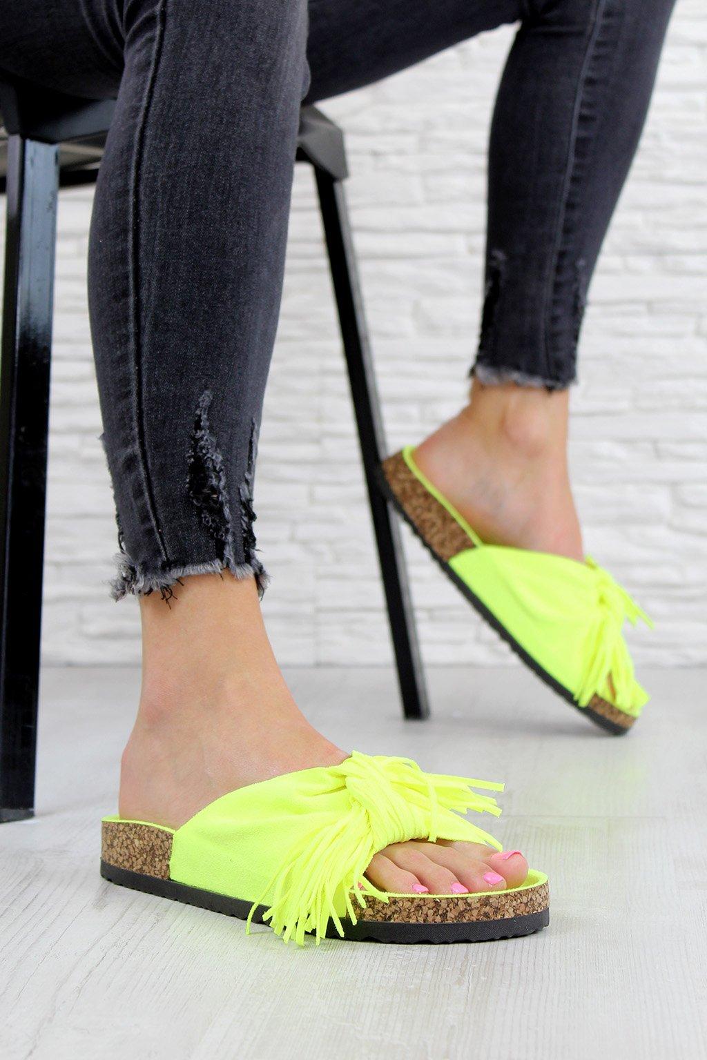 G 598 12FL.YE Neonové pantofle (2)
