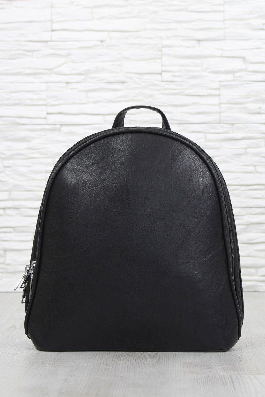 Černý elegantní batoh E 7031B