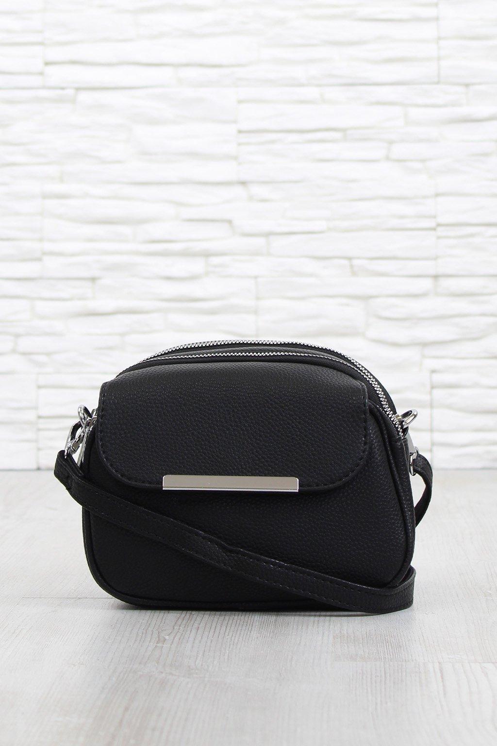 Malá černá kabelka 5485 BB (1)