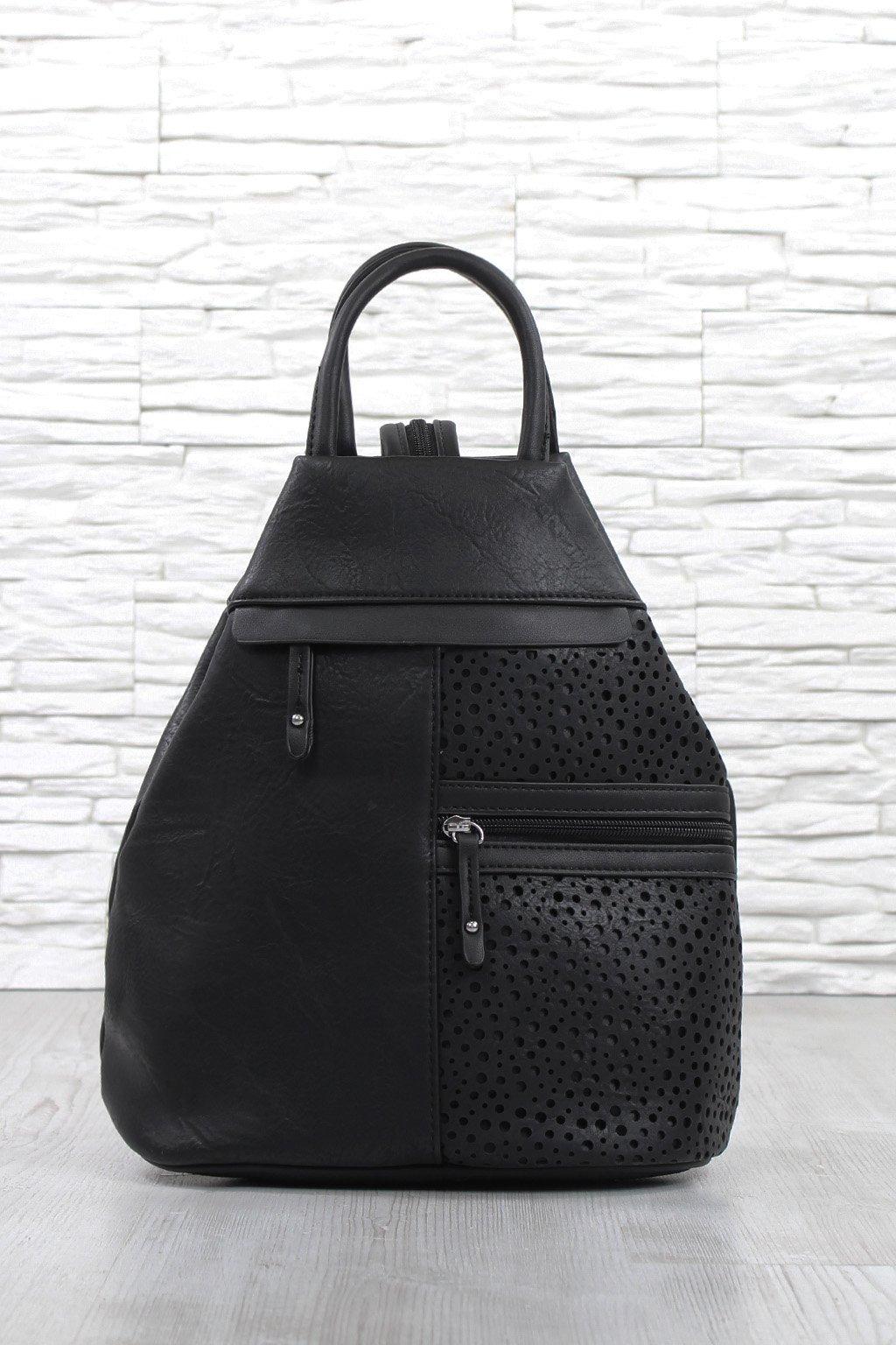 Černý batoh dámský 5225 BB (2)