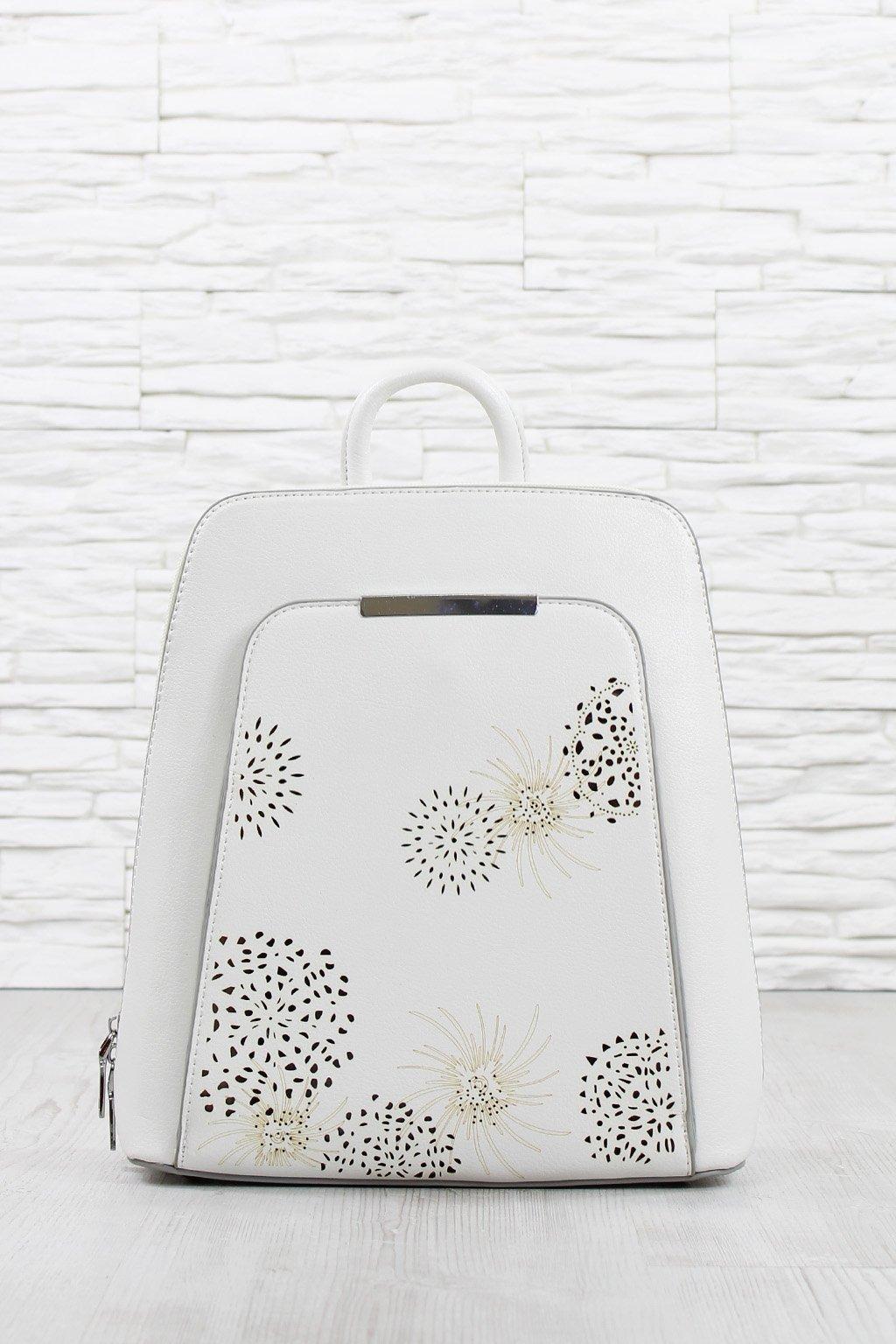 Dámský batoh bílý
