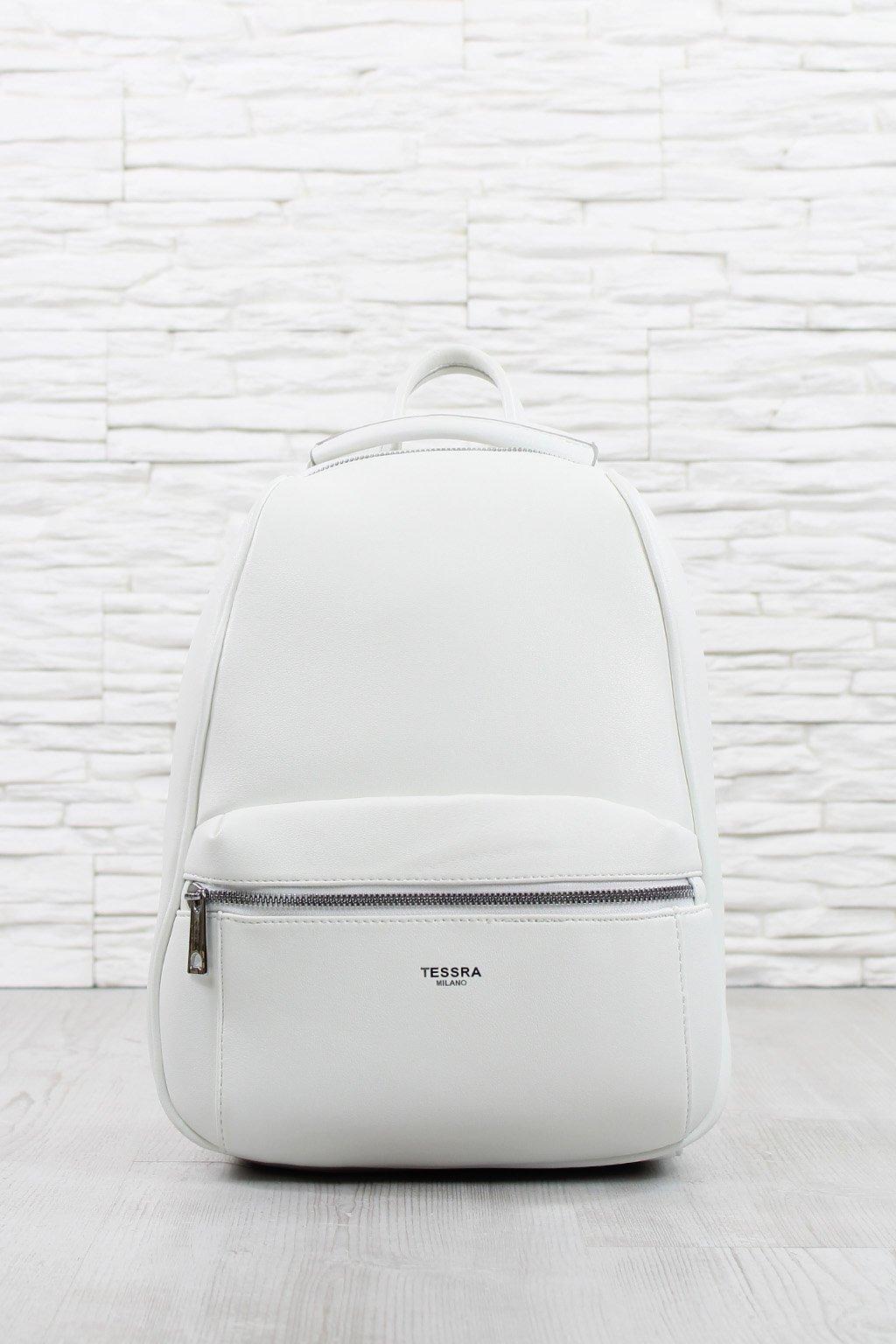 Dámský bílý batoh 5531 TS (1)
