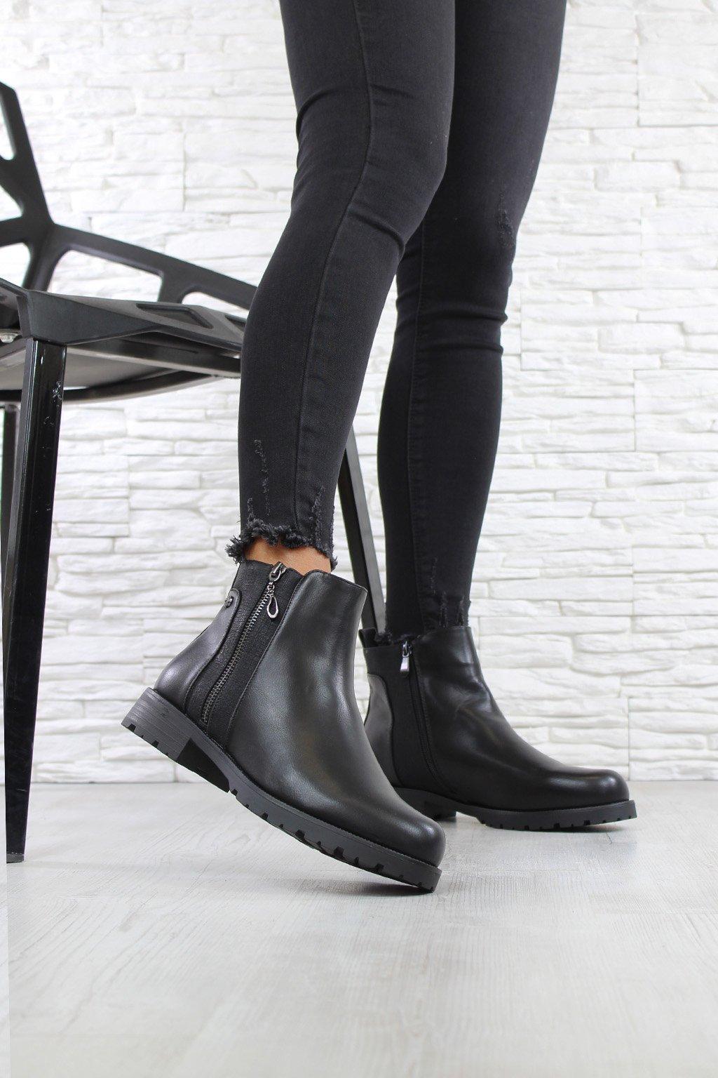 Zateplené kotníkové boty SG 335B (2)