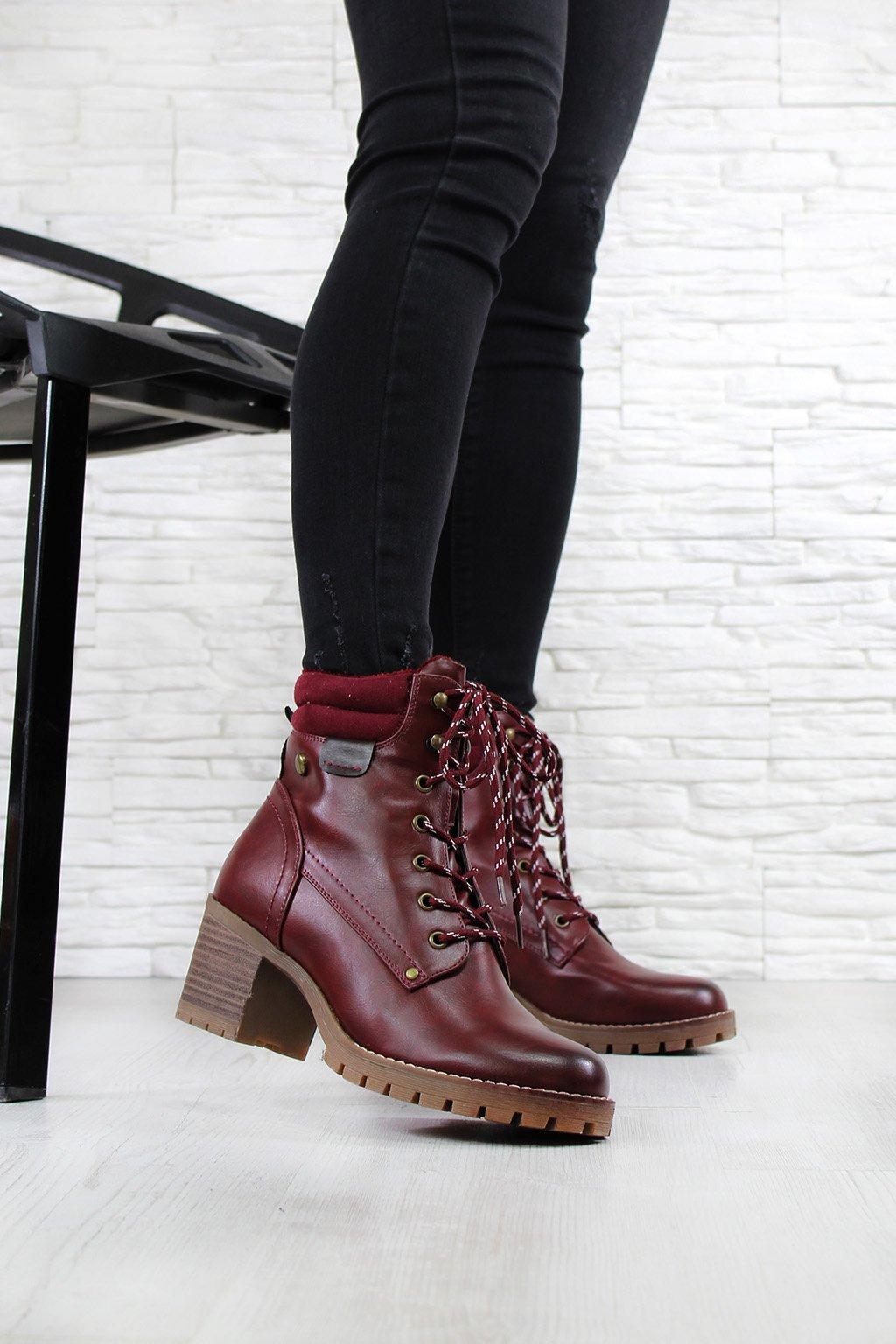 Dámské boty na podpatku 4020 3WI.r (3)