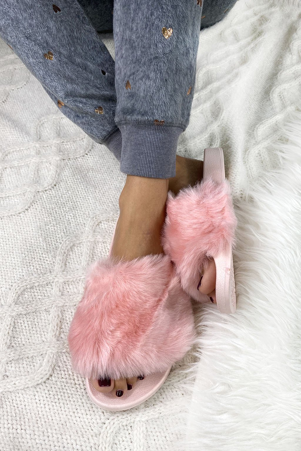 pantofle pink