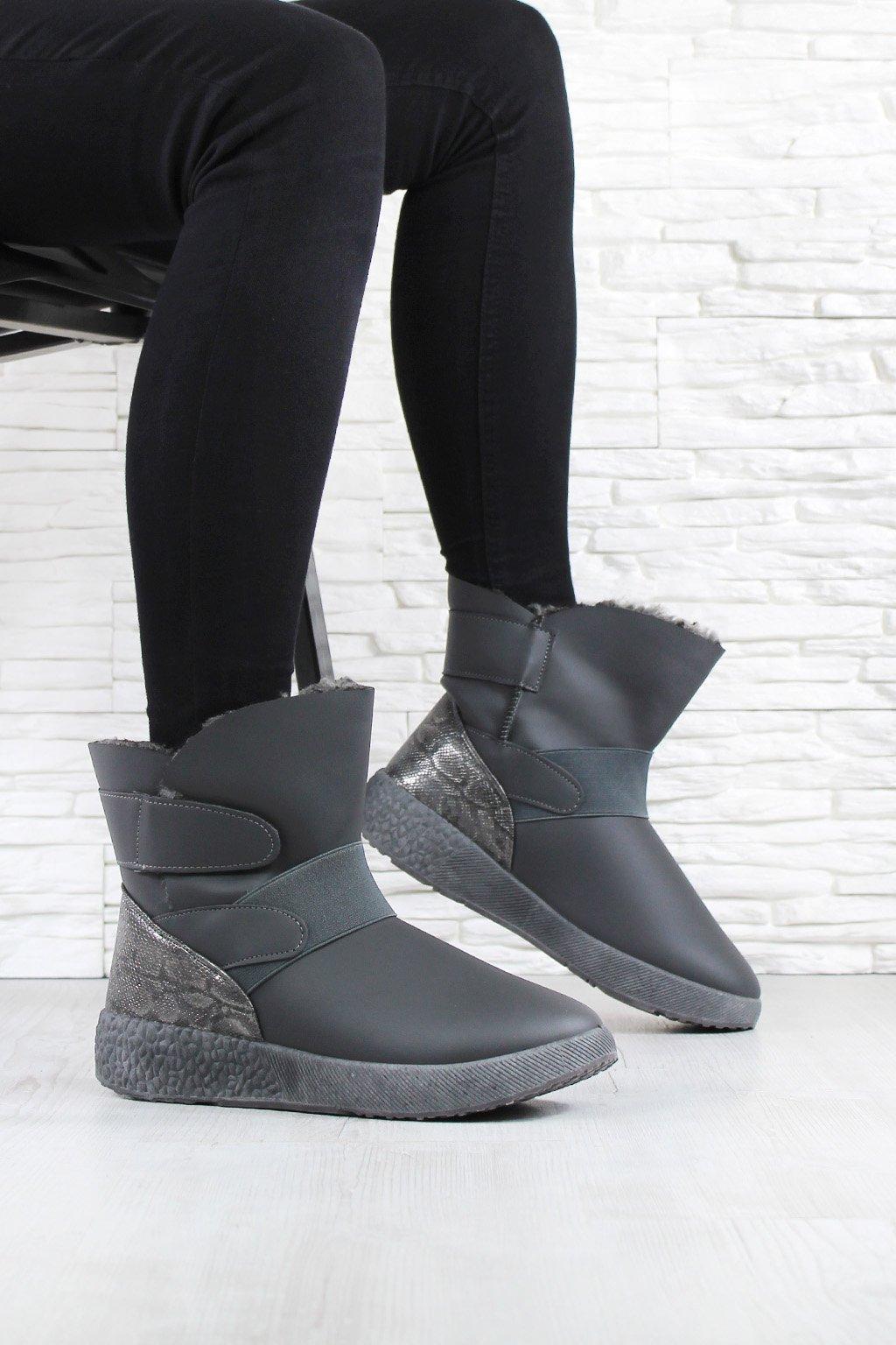 Dámské kotníkové boty 81058 2G (1)