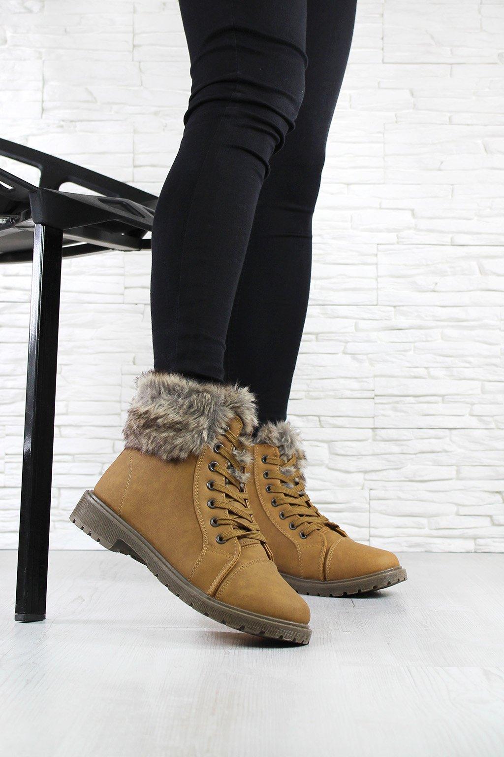Dámské šněrovací boty 3010 4CA (3)