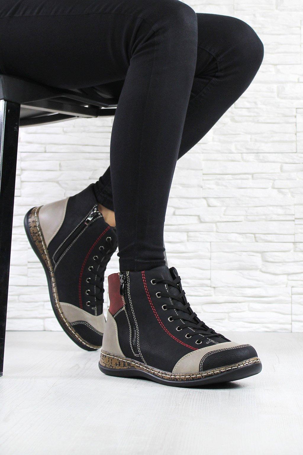 Dámská kotníková obuv 6420B (2)