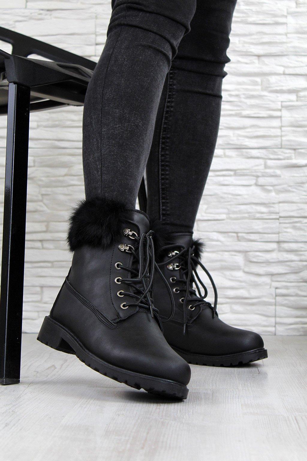 606 1B Zimní boty s kožichem (3)