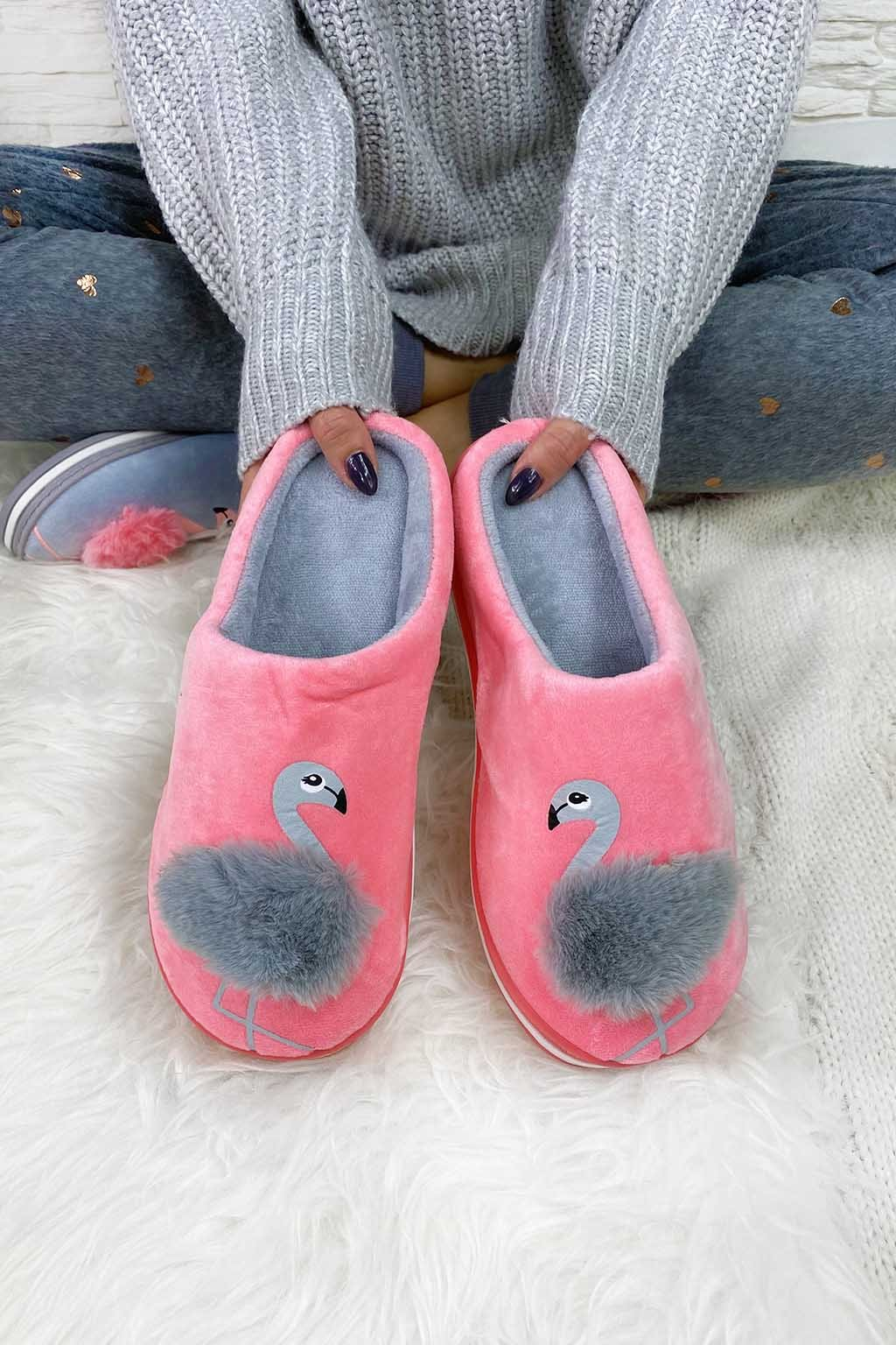 Pantofle plameňák