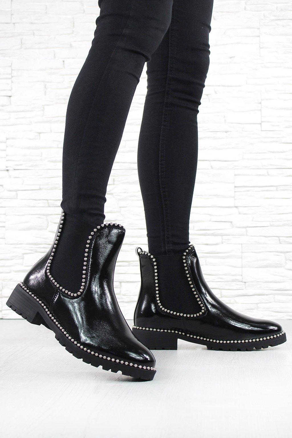 Dámské chelsea boty NC962B (3)