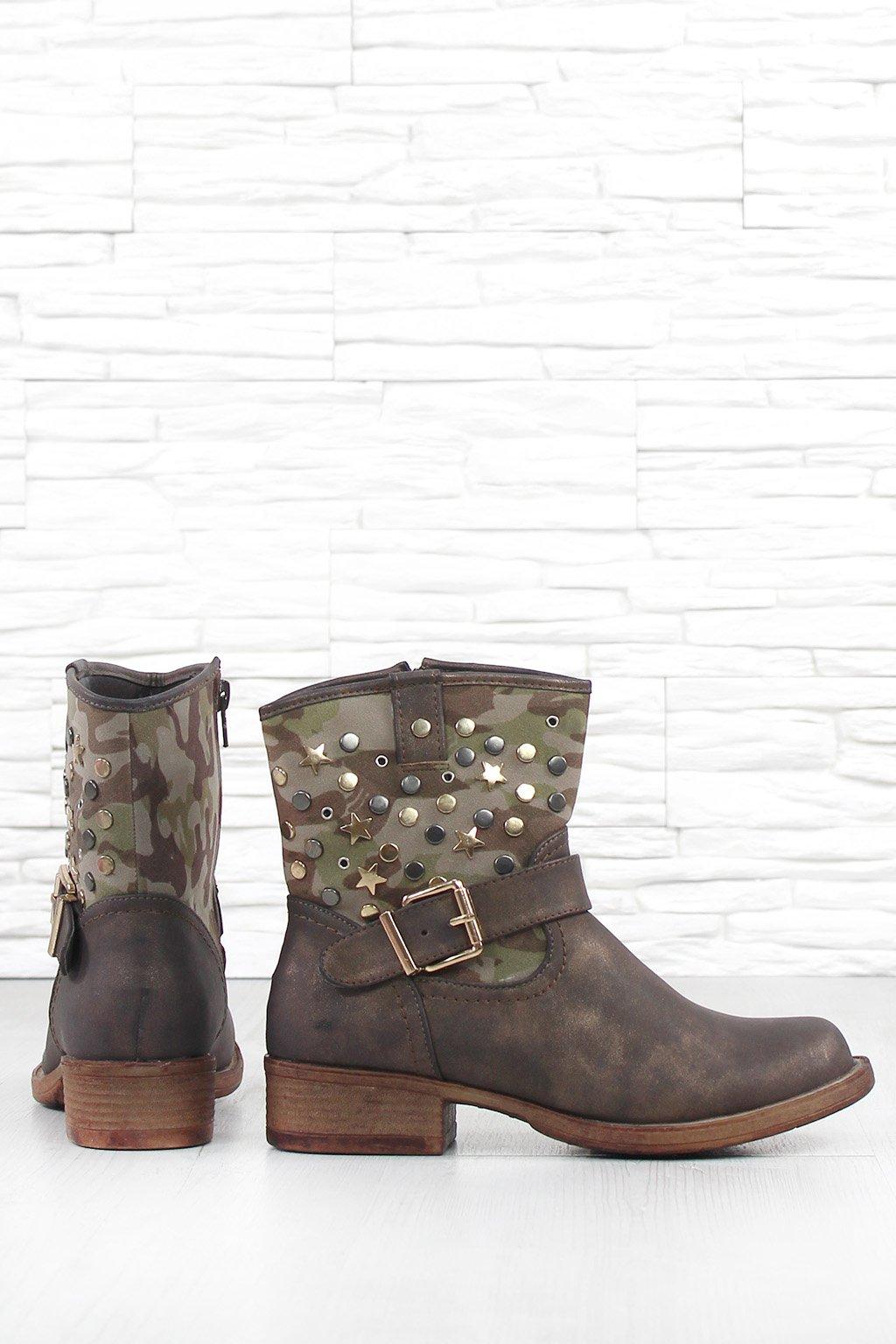 Dámské kotníkové boty KA7538BR (2)