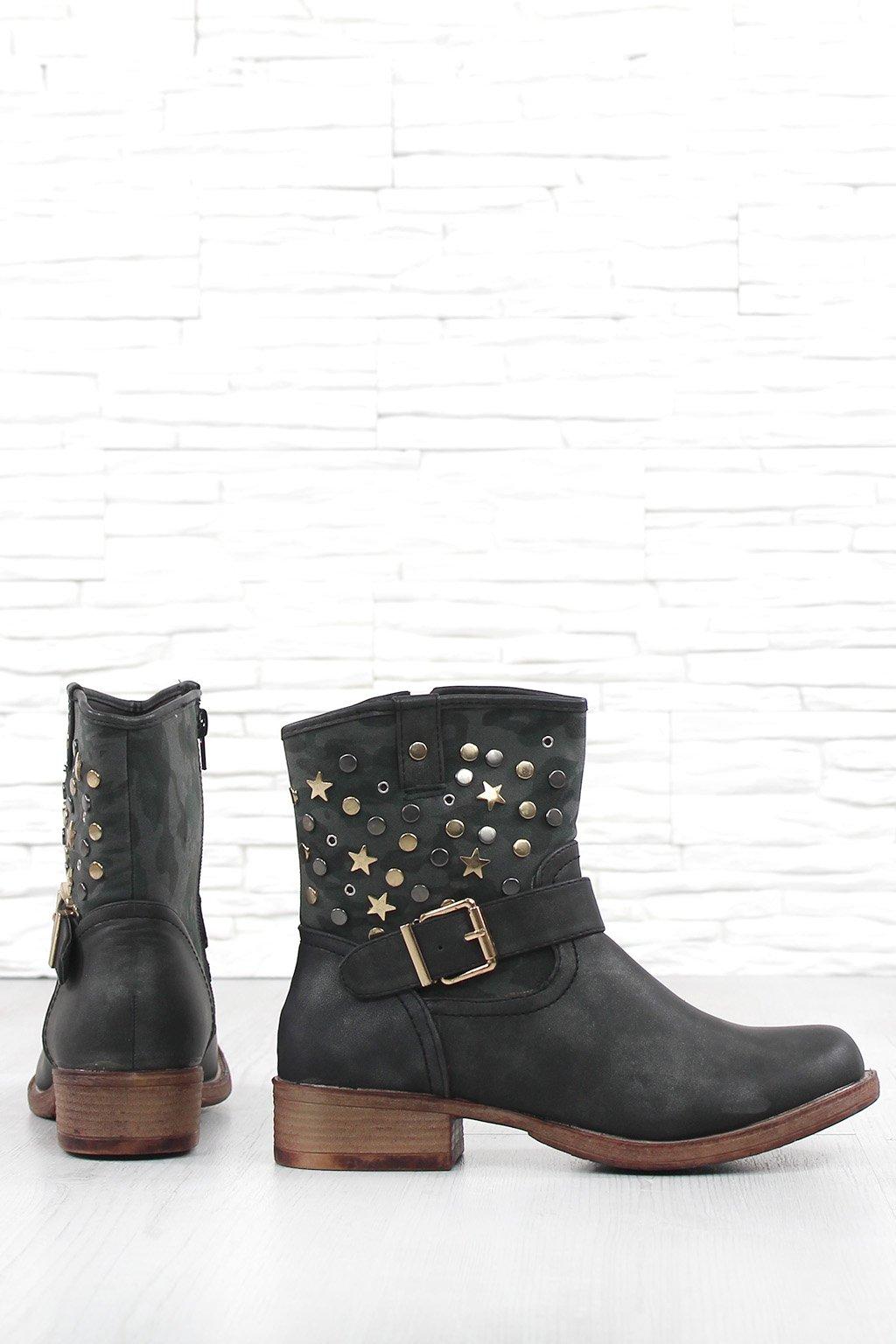 Kotníkové boty KA7538B (2)