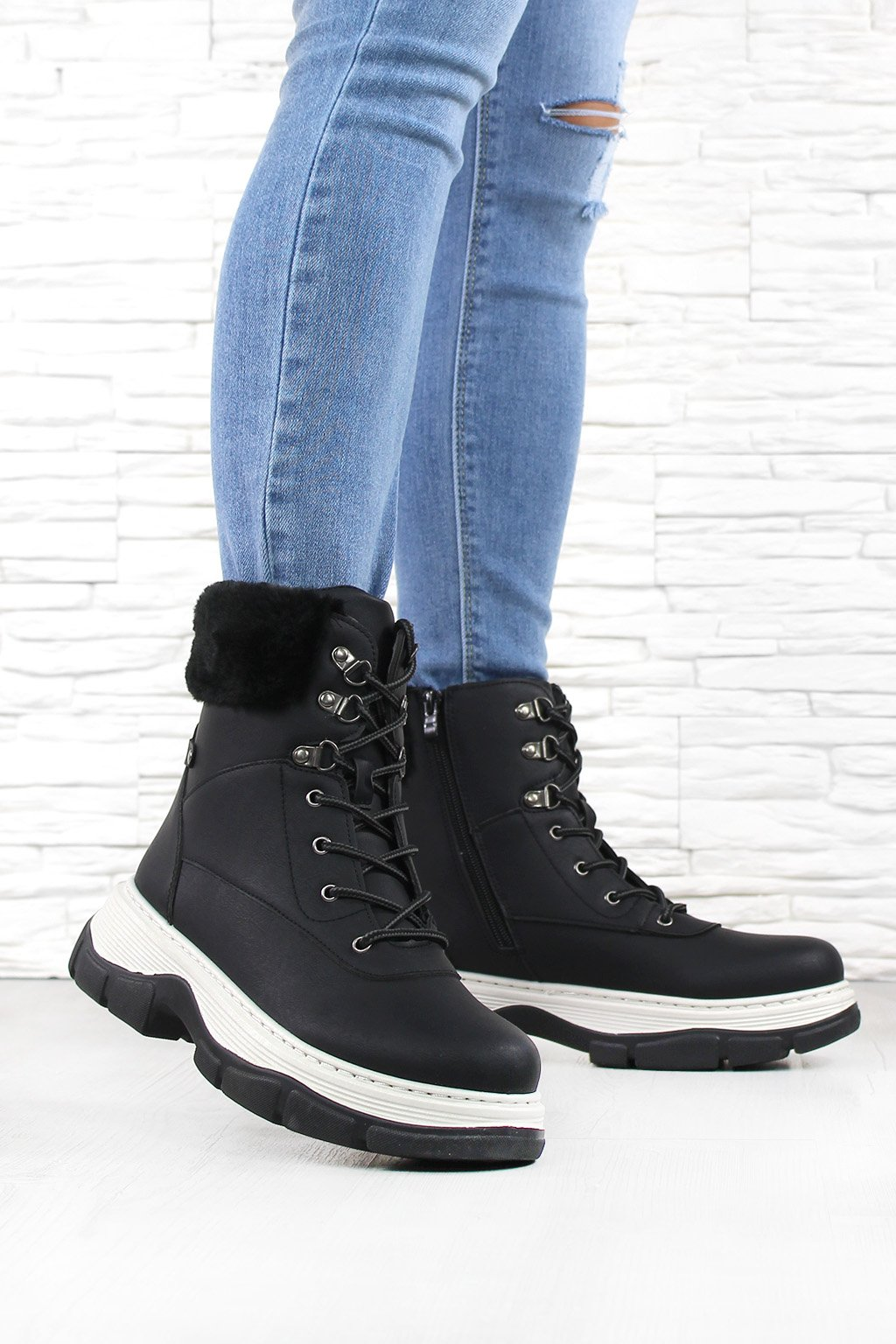 Zimní boty 8207B (1)