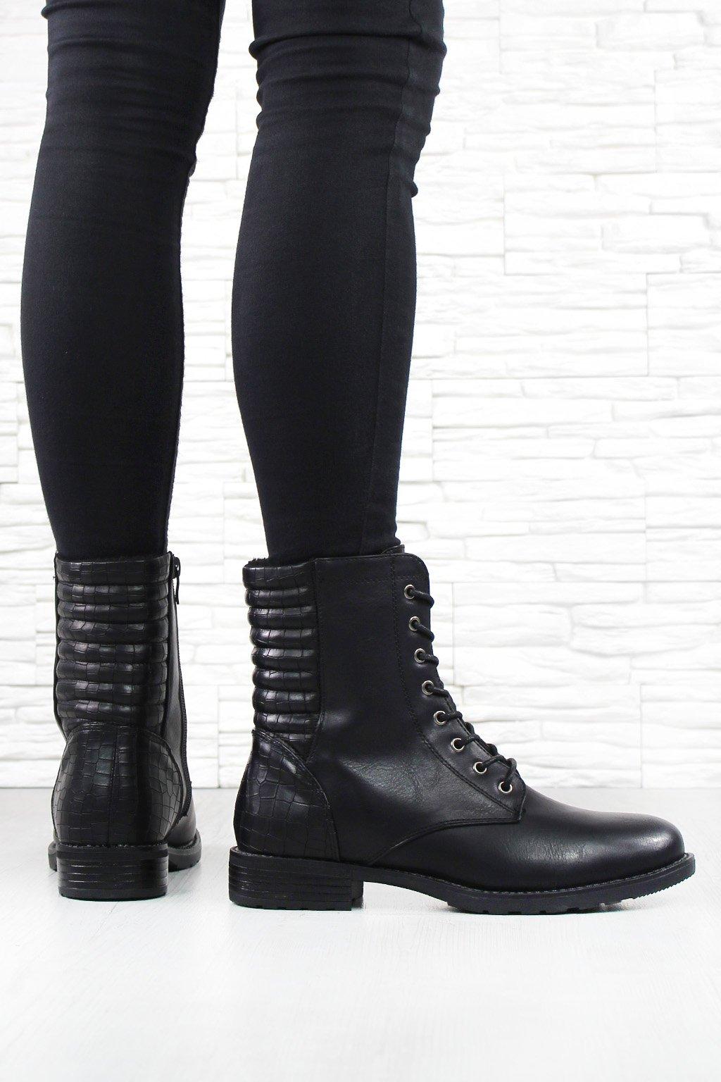 Dámské kotníkové boty GY9905 1B (3)