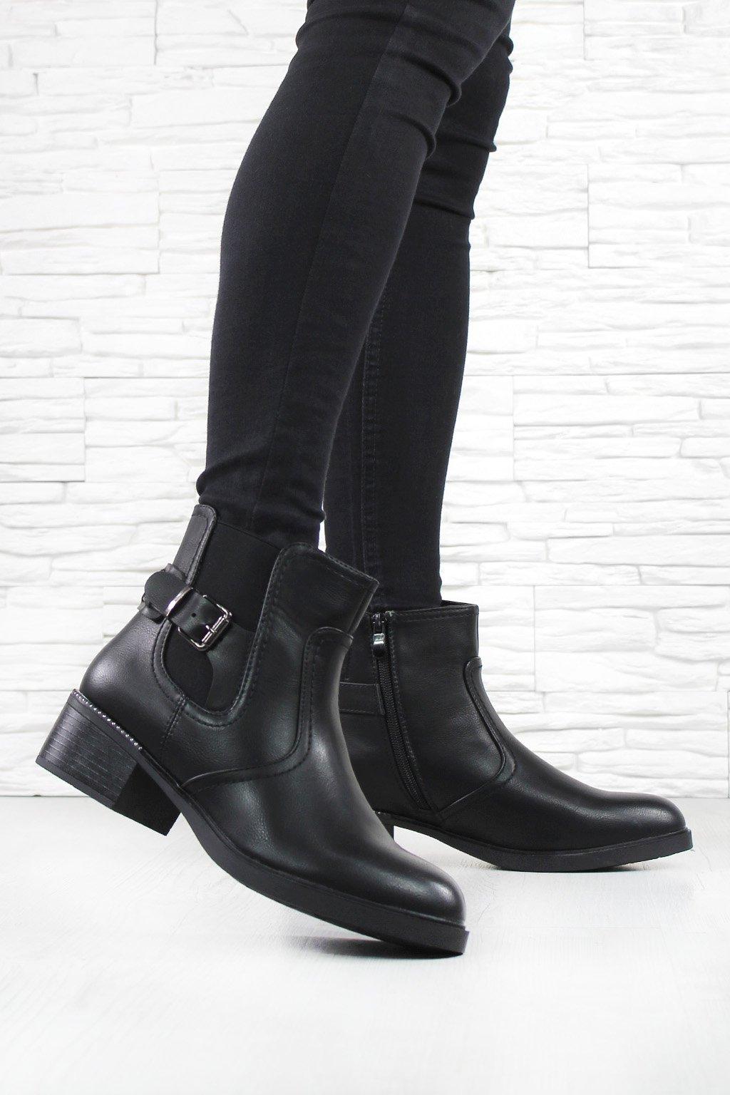 Dámské kotníkové boty HL61536B (3)