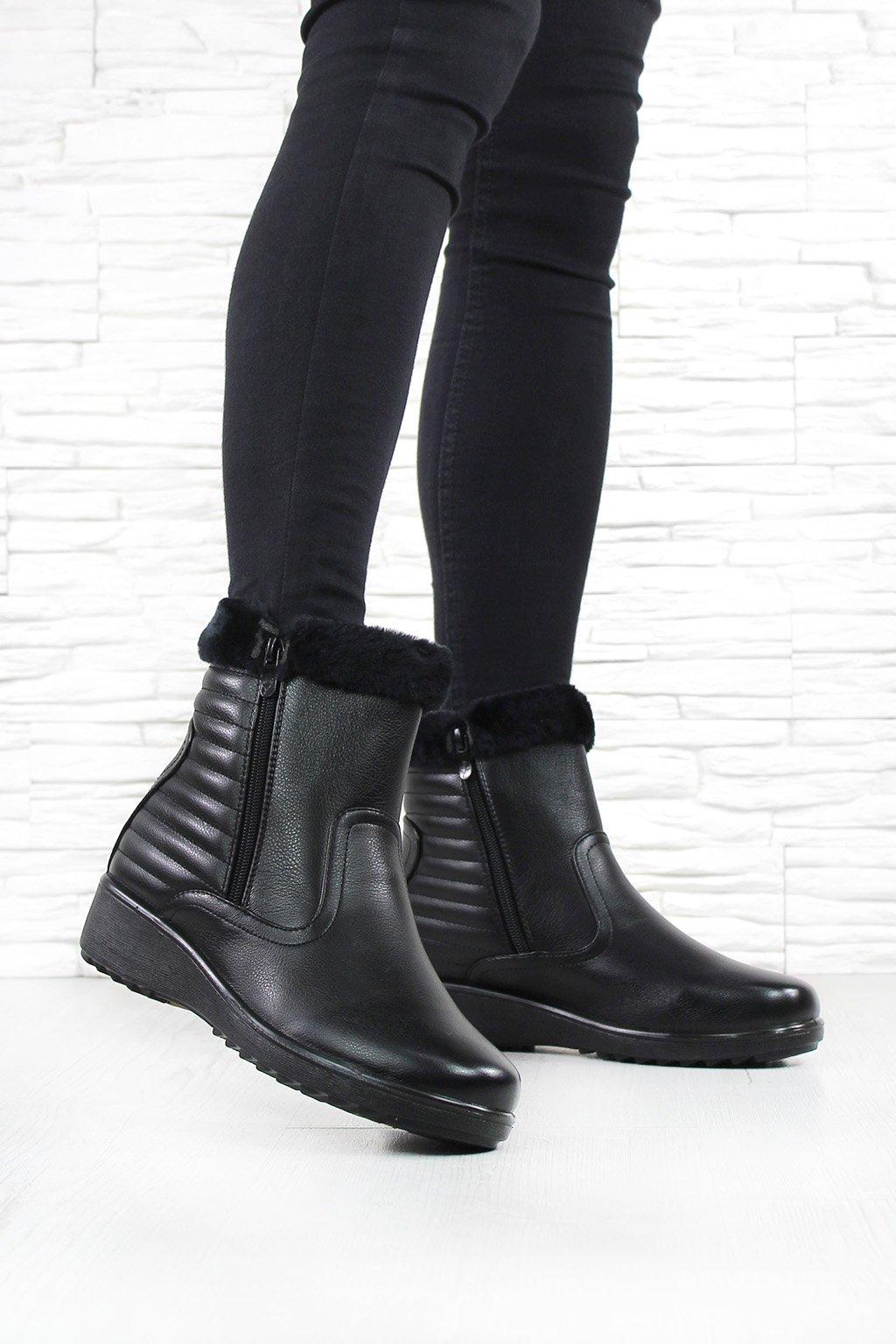 Dámské kotníkové boty DB024 1B (2)
