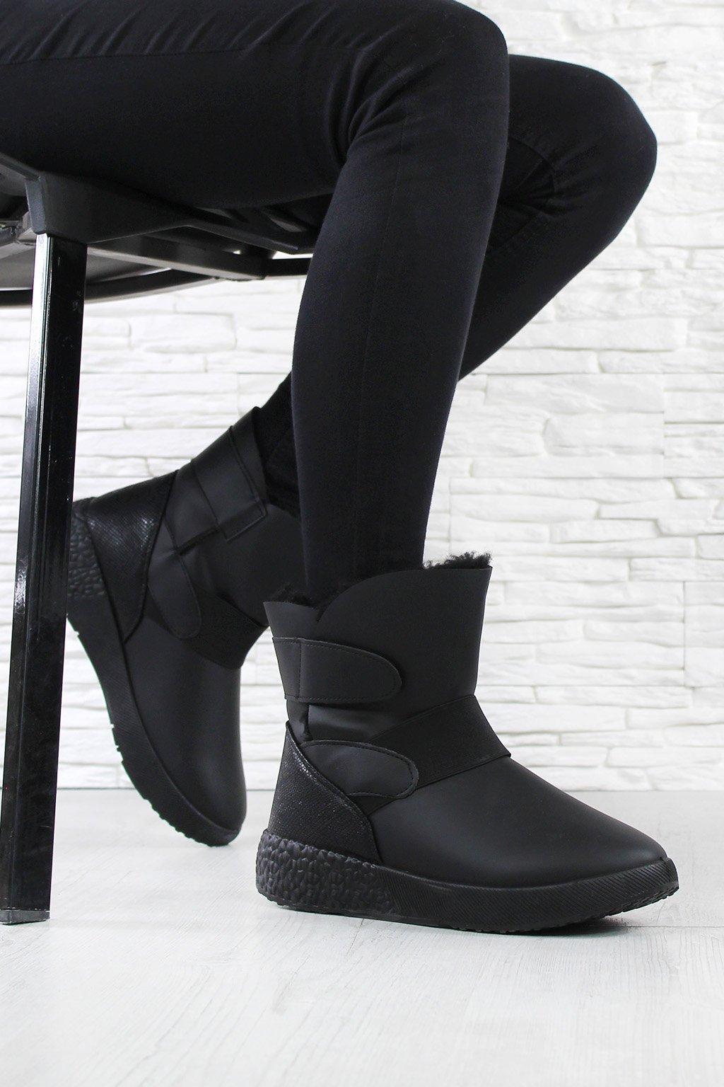 Dámské kotníkové boty 81058 1B (2)