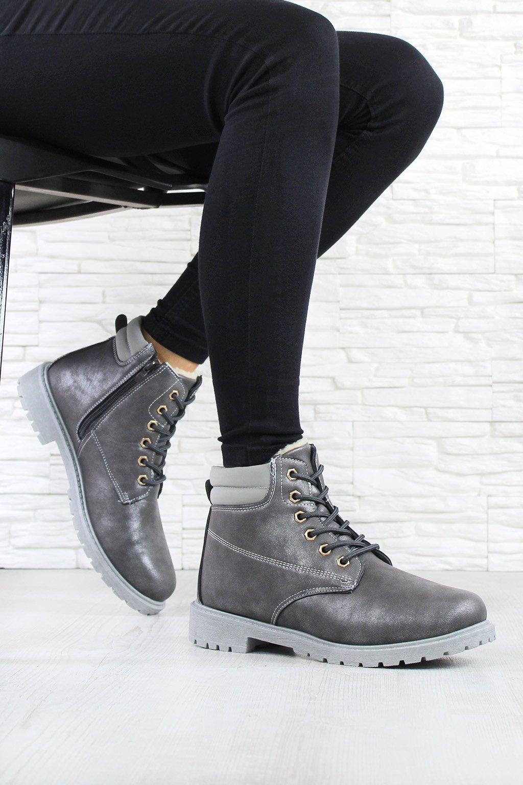 Dámské šněrovací boty B732 2D (1)