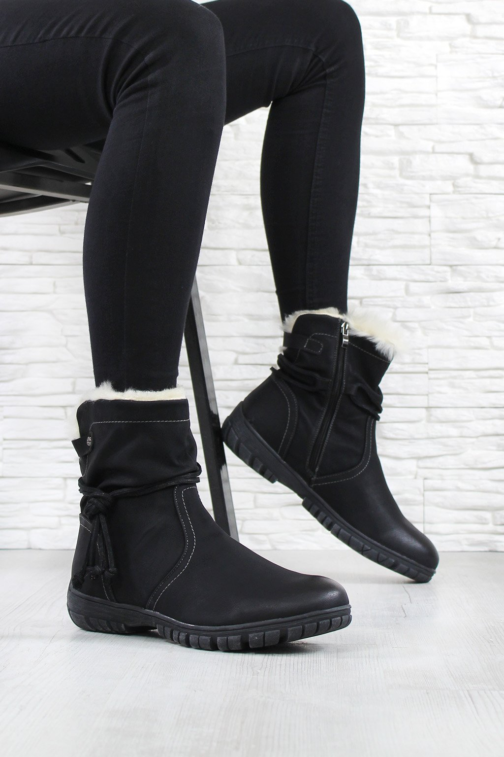 Dámské zimní boty 6605B (1)