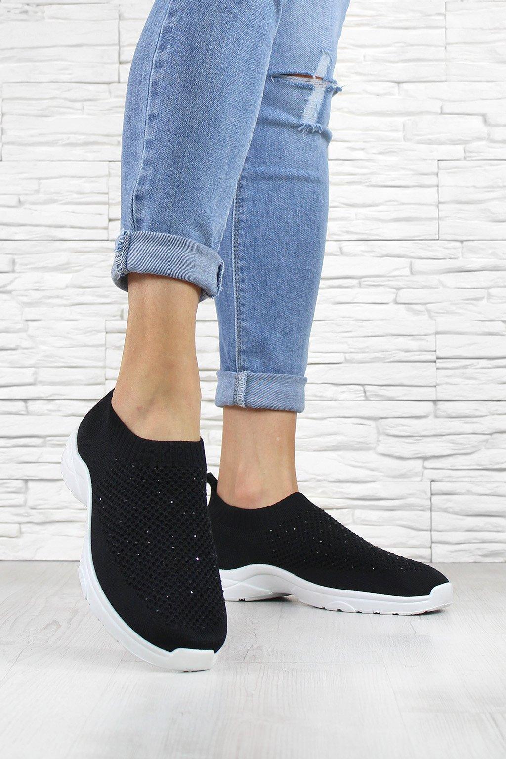 Ponožkové tenisky BA43 1B (1)