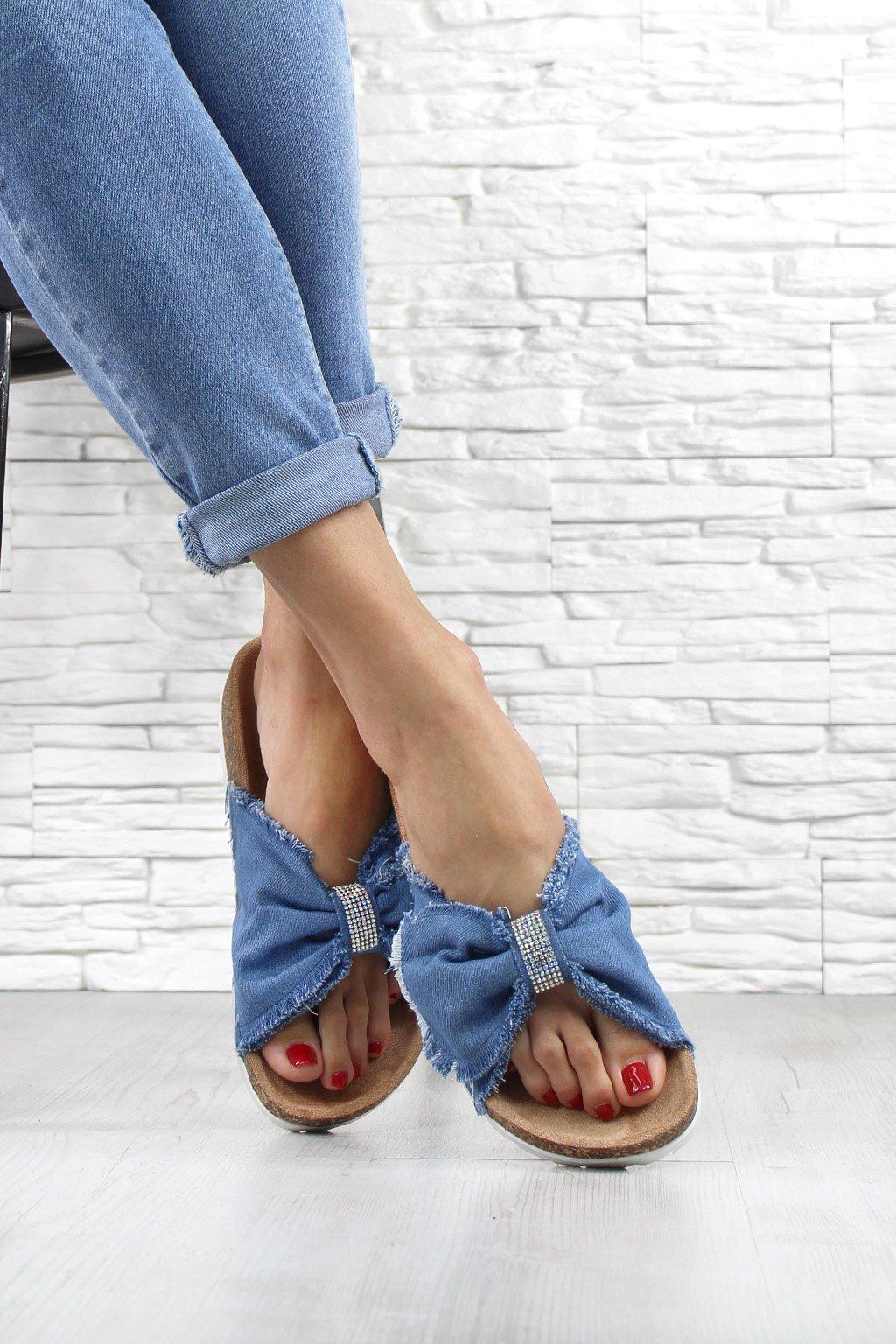 Dámské pantofle WSA 77L bl (1)