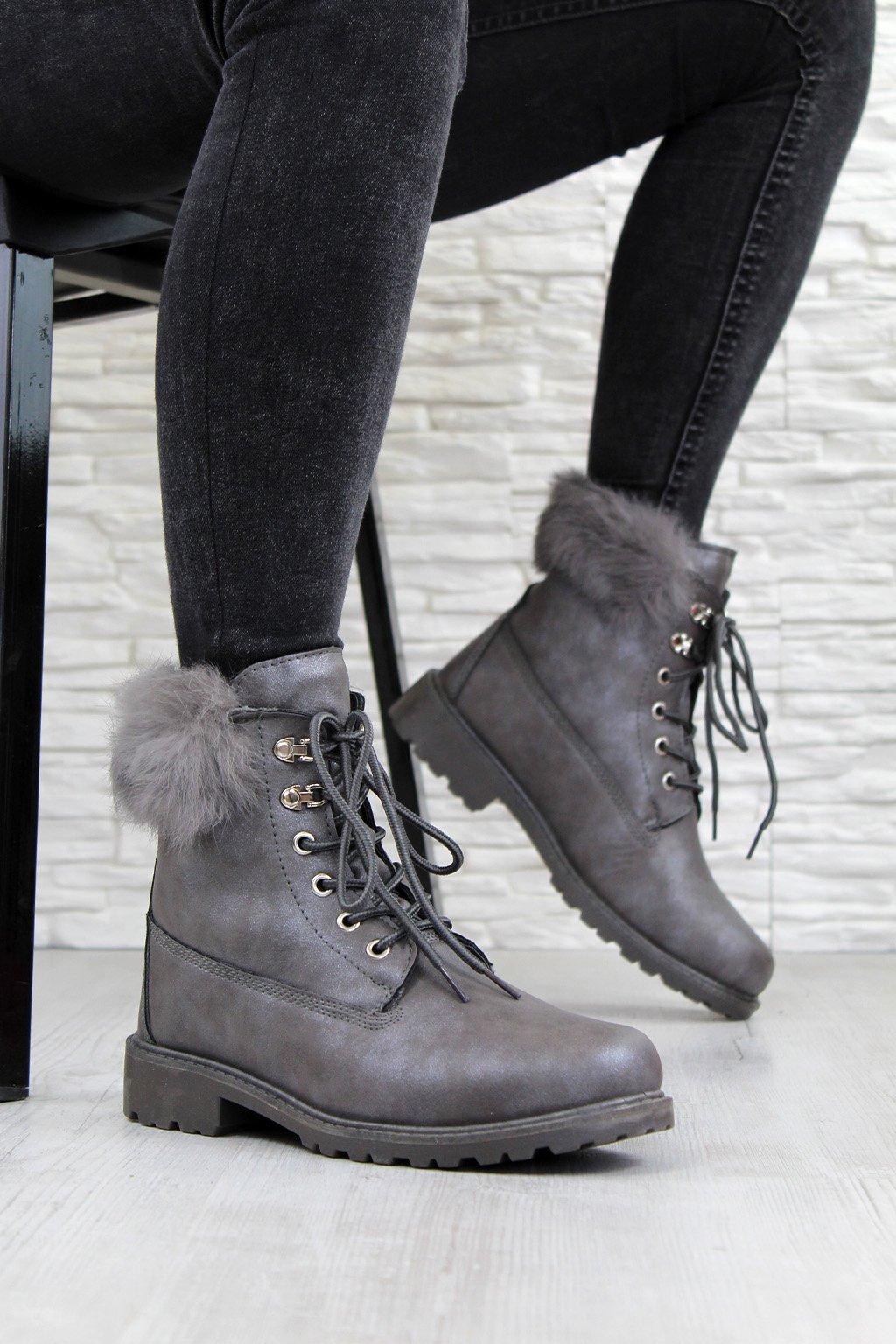 606 2G Zimní boty s kožichem (2)