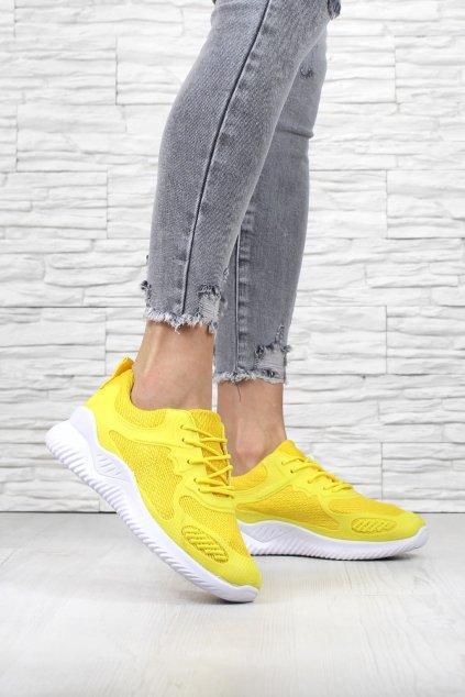 Dámské žluté tenisky 2238YE (3)