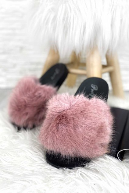 pantofle ruzove 1