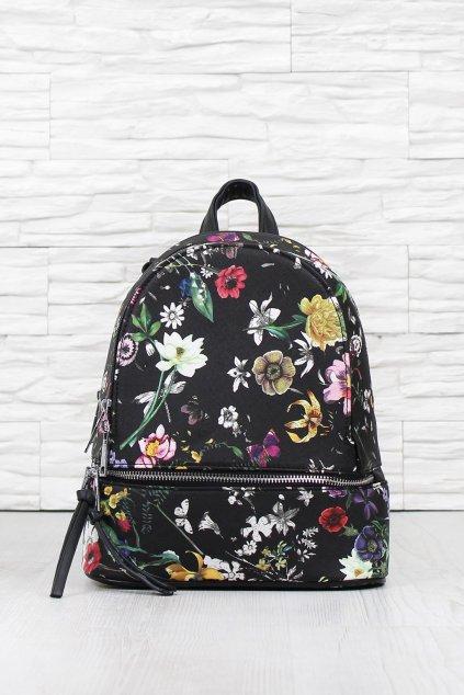 Květovaný batoh A172B (1)