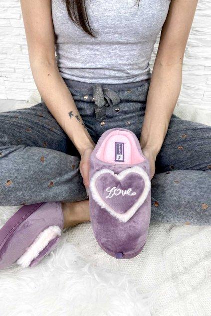 Domaci papuce purple