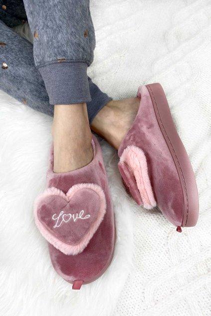 Domaci papuce pink