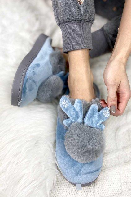 Vanocni papuce damske 4