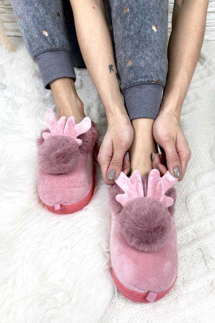 Vanocni papuce damske 3