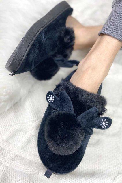 Vanocni papuce damske 2