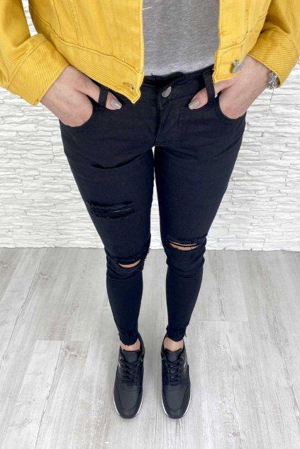 cerne trhane kalhoty 1